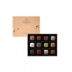 Cube Truffles Chocolate Gift Box 12pcs