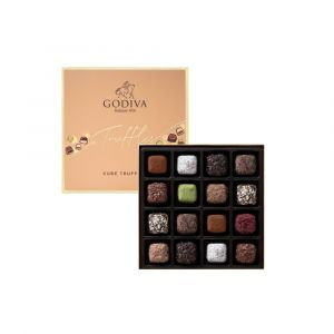 Cube Truffles Chocolate Gift Box 16pcs