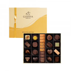 Gold Collection Chocolate Gift Box 25pcs