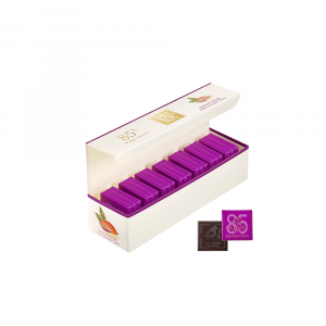 PURE 85% Dark Chocolate Carré Gift Box 21pcs